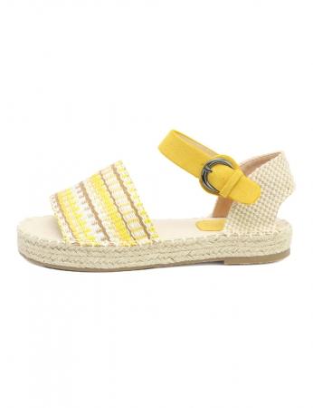 Sandalias Tentry - Amarelo