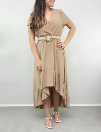 Vestido Doris - Bege
