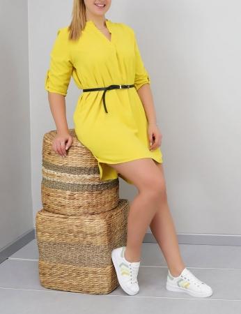 Vestido Gaby - Amarelo