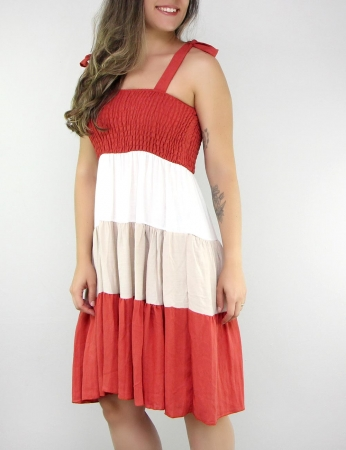 Vestido Picolé - Vermelho