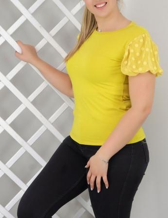T-shirt Yarinha - Amarelo