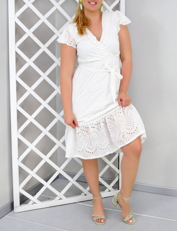 Vestido Zariele - Branco